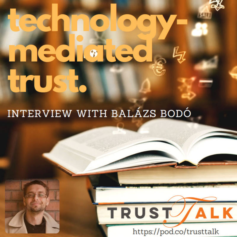 Global Institutions and Technology-Mediated Trust