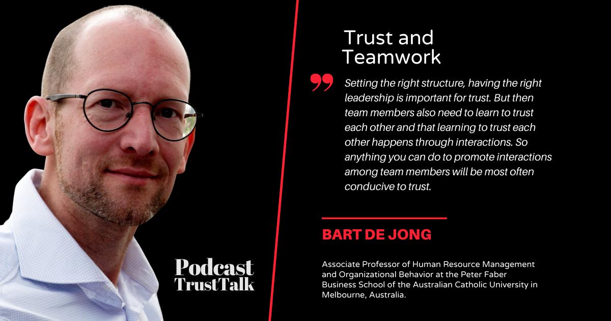 Trust is Key in Teamwork