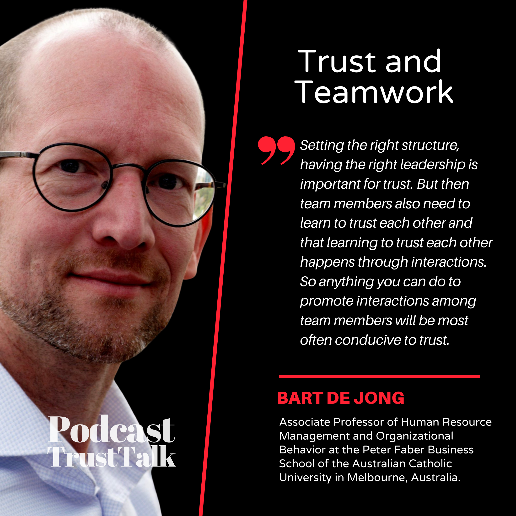 Trust and Teamwork
